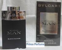 BULGARI MAN BLACK COLOGNE EDT VAPO NATURAL SPRAY - 60 ml