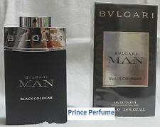 BULGARI MAN BLACK COLOGNE EDT VAPO NATURAL SPRAY - 100 ml
