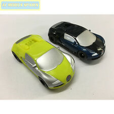 Micro Scalextric Pair of Bugatti Veyron Cars