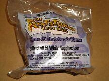 1993 McDONALD'S KIDS HAPPY MEAL TOY-FLINTSTONES-WILMA & FLINTSTONE'S HOUSE! NEW!