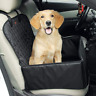 Pet Front Seat Waterproof Car Seat Foldable Portable Adjustable Backing Carrier