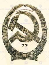 La propagande politique communisme prolétaire soviet union vintage ad poster 1829PY
