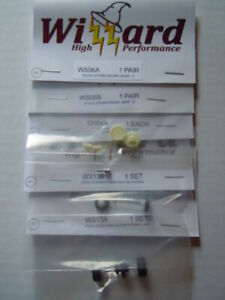 Wizzard Storm USA Slot Car Tune Up Kit ~ New Parts Lot ~ Deep Guide Pin, Gears
