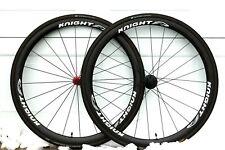 Knight 35 Carbon Clincher 11 Speed Road Bike 700c Aero Wheelset & 25c Tires