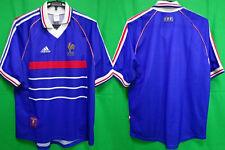 1998 France FFF Les Bleus Jersey Shirt Maillot Home Adidas FIFA World Cup L