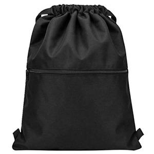 Vorspack Drawstring Backpack String Bag Sports Gym Sack with Side Pocket for Men