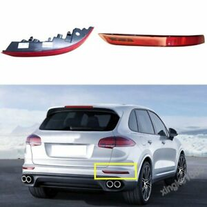 Fit Porsche Cayenne 2015-2017 NEW Bumper Rear Fog Lamp Reflector Light Right