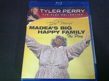 TYLER PERRY'S MADEA'S BIG HAPPY FAMILY THE PLAY ( BLU RAY )