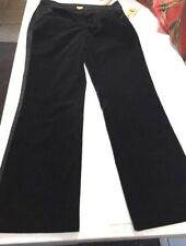 Reba Women's Size 8 Pants Embellished Suede Fill Cotton HH41