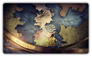 B532 Free Mat Bag Game Of Thrones Westeros Deck Game Playmat CCG Play Mat