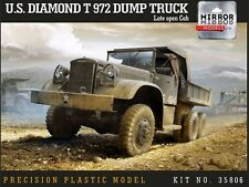Mirror models 1/35 us diamond t 972 camion benne tard open cab nº 35806