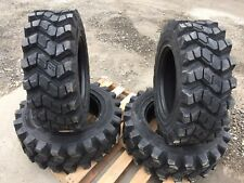 4 Camso SKS753 10-16.5 Skid Steer Tires for Scat Trak, Volvo & more - 10X16.5