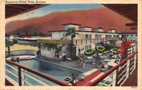 Linen Postcard Rossmore Hotel in Palm Springs, California~121096