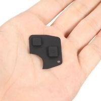 Car Remote Locking Kit Key Fob Case Rubber Pad 2 Button For Toyota Rav4 Corolla