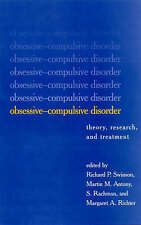 Obsessive-Compulsive Disorder: Theory, Research, and Treatment-ExLibrary