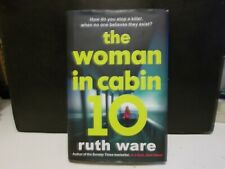 The Woman in Cabin 10 signed Ruth Ware