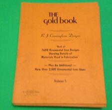 Iron Designs The Gold Book 5 Vol Set 1600 Ornamental Details Of Materials 1980