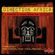 Direction Africa (1997) Manu Dibango, Toure Kunda, Ginger Baker, Mandingo.. [CD]