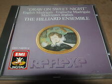 Draw on Sweet Night (English Madrigals) -  The Hilliard Ensemble  CD  EMI