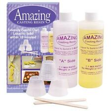 Amazing Casting Resin kit 16oz Liquid To Solid In 10 Minutes!