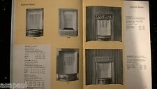 FIREPLACES BY HOOLE BOOK  PAPERBACK BOOKLET PAMPHLET CATALOGUE ILLUSTRATED