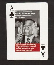 Louis Armstrong Satchmo Jazz Blues Trumpet 2008 Toronto Promo Playing Card