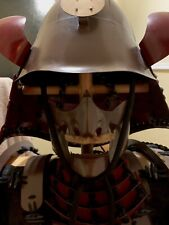 More details for full wearable iron metal samurai armour