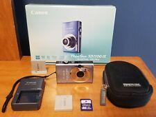 Canon PowerShot Digital ELPH SD1100 IS / IXUS 80 IS 8.0MP Digital Camera - BLUE