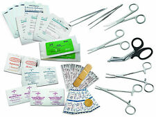 Survival Surgical Suture Emergency First Aid Military Field Kit Each SS7