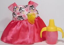 2013 Baby Alive All Gone Replacement Bottle Sippy Cup Dress