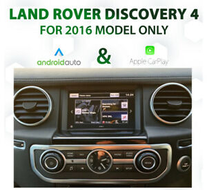 Land Rover Discovery 4 2016 - Apple CarPlay & Android Auto Integration