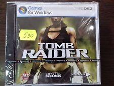 """PC DVD-ROM """"Lara Croft Tomb Raider Underworld"""" BRAND NEW- NEVER OPENED"""