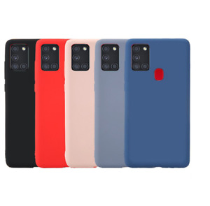For Samsung Galaxy A21S Case Slim Thin Silicone Soft Gel Rubber Bumper Cover