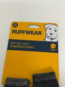 "Ruffwear Bark'nBoot Liners Dog Boot Liners Size 1.5/1.75"" 38/44mm Twilight Gray"