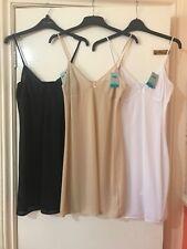 BHS Underskirt FULL SLIP   Nude Black or White 8 10 12 14 16 18 20 24 BNWT