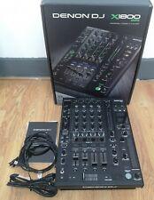 Denon X1800 Professional 4 Channel Dj Club Mixer with Dual USB Audio EX-DEMO#