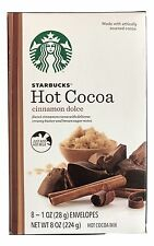 1X Starbucks Cinnamon Dolce Flavored Hot Cocoa Drink Mix 8 Packs, x-5/30/2017