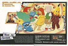 X1653 Tele Più Bambini - Pubblicità del 1994 - Vintage advertising