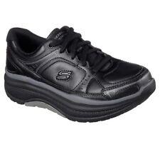 Antideslizante Negro Zapatos Mujeres Trabajo de Skechers Memoria Espuma 77218 Rocker ehhazard