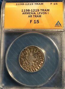 Armenia  - Levon I = AR Tram = ANACS  F-15 = 1198-1219  = Levon / Rampant Lions!
