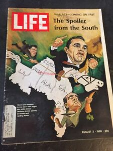 Life Magazine August 2 1968 The Spoiler From The South