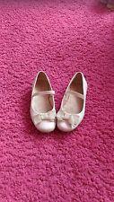 Jolies ballerines Zara en cuir blanc, T27