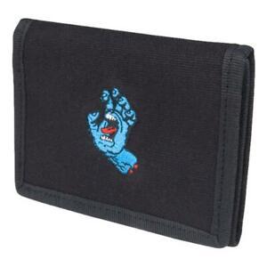 Santa Cruz Mini Hand Wallet - Black NEW