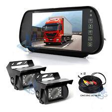 """Kit Retromarcia Specchietto 7""""Retrocamera Posteriore equipme vehicle safety Car"""
