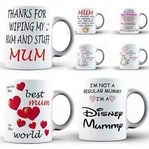 Mothers Day Mug Ceramic Step Mum Birthday Mummy Coffee Tea Cup Novelty Gift
