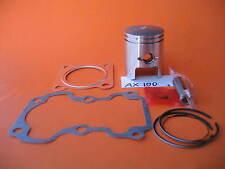 Piston 50mm +.50 Bore Rings Pin Kit Gaskets Suzuki AX 100 2-Stroke #12140-23411