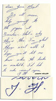 Rare Joseph Heller Autograph Letter Signed