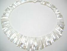 Hawaiian Hawaii Jewelry Natural White Mother Pearl Shell Necklace # 20364