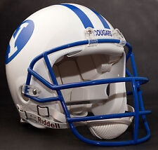 STEVE YOUNG Edition BRIGHAM YOUNG COUGARS Riddell AUTHENTIC Football Helmet BYU