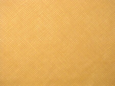 Riverwoods Winter Magic Christmas Wavy Check Cotton Fabric Honey Brown - 1.83 Yd